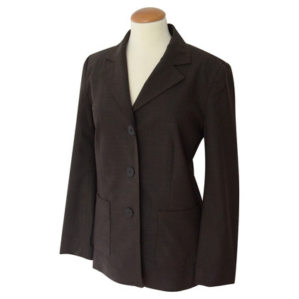 Louis Vuitton dunkelbraune Blazer Jacke