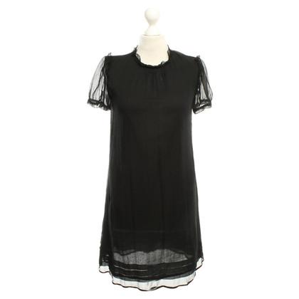 See by Chloé Black silk dress
