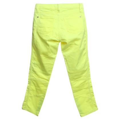 Closed Pantaloni in neon giallo