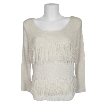 Hoss Intropia Sweater with fringes