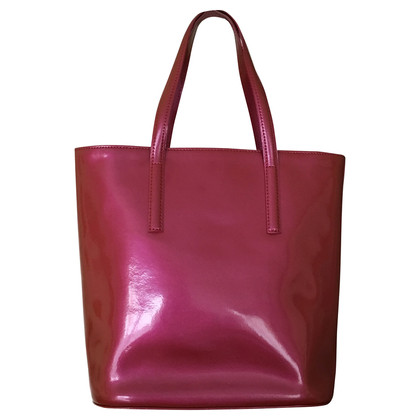 Longchamp Patent leather tote bag