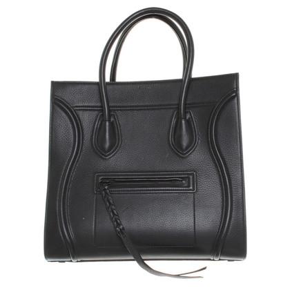 "Céline ""Phantom Luggage Bag"" in Black"