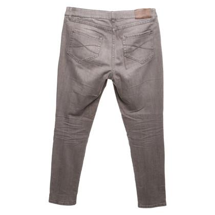 Gunex Jeans in grigio-marrone