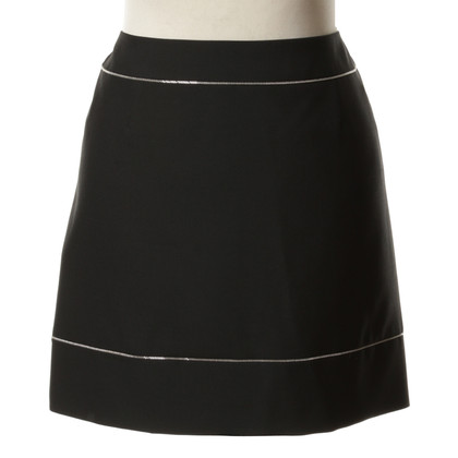 Balenciaga Mini rok in zwart