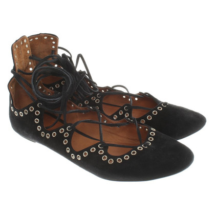 Isabel Marant Ballerinas made of suede with lacing