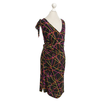 Emanuel Ungaro Silk dress in multicolor