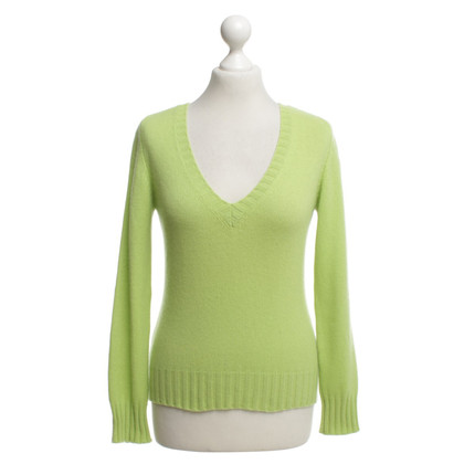 Iris von Arnim Kasjmier truien in het groen