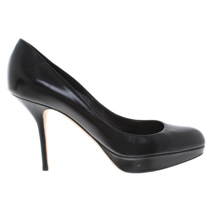 Christian Dior pumps in zwart