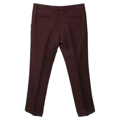 Bally Pantaloni Bordeaux