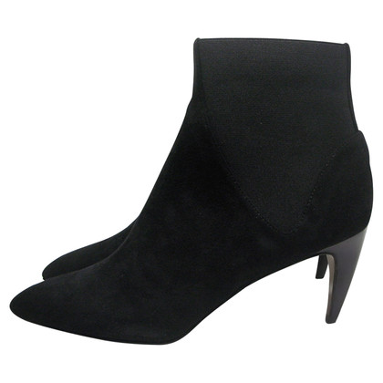 Walter Steiger Black suede ankle boots