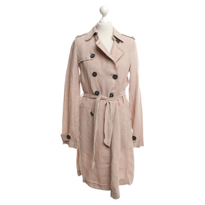 Comptoir des Cotonniers Nude colored linen coat