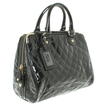 Bally Patent leather handbag in black