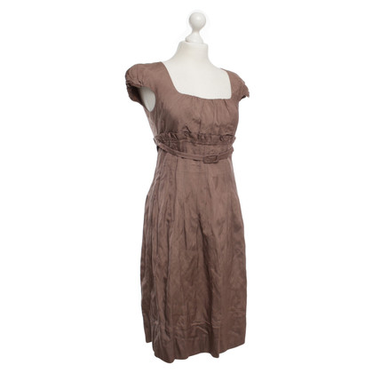 Max Mara Kleid in Taupe