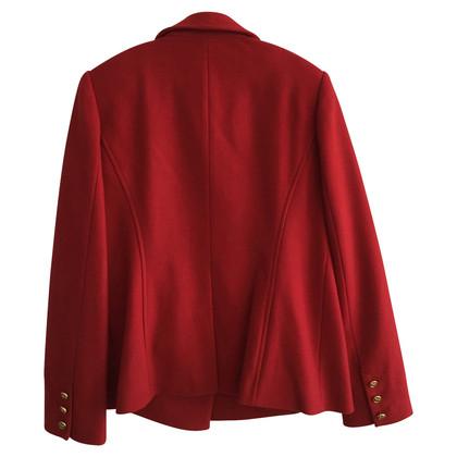 Tory Burch Giacca di lana rossa