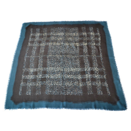 Burberry Wool blanket with silk / cashmere