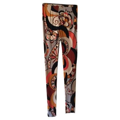 Emilio Pucci Silk leggings