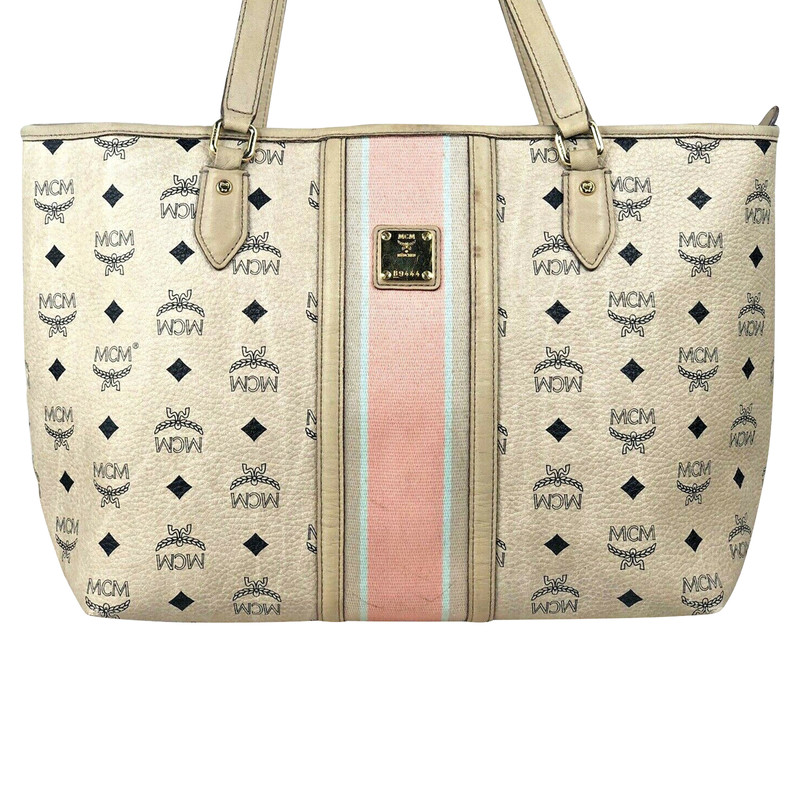 Mcm Shopper aus Canvas Second Hand Mcm Shopper aus Canvas