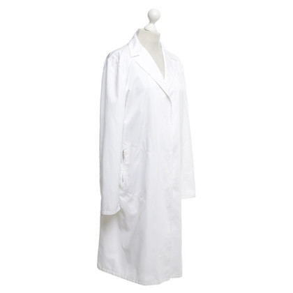 Jil Sander Raincoat in bianco