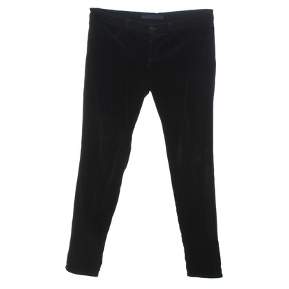 J Brand Velvet trousers in black