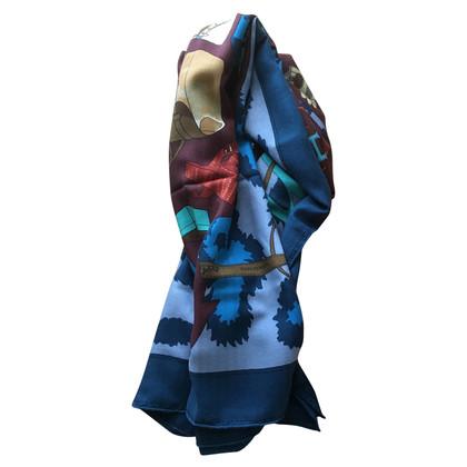 Hermès Cashmere / silk scarf