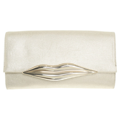 Diane von Furstenberg Gold colored clutch