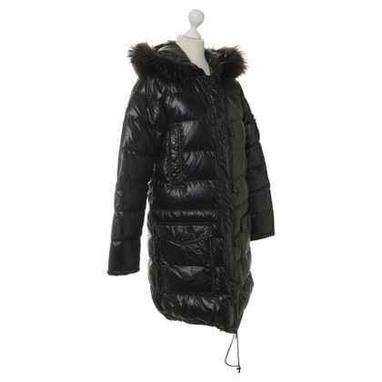 Duvetica Black down coat