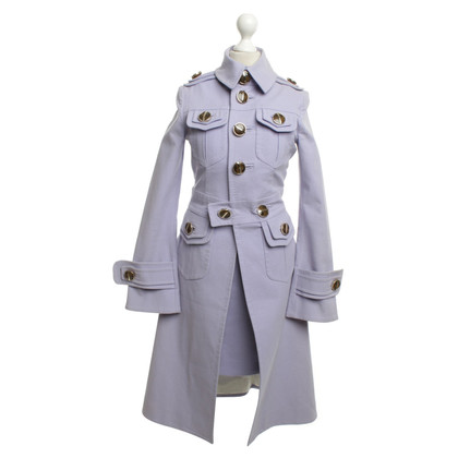 Dsquared2 Dress & Trench Coat in lilac