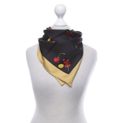 Salvatore Ferragamo Zijden sjaal met print