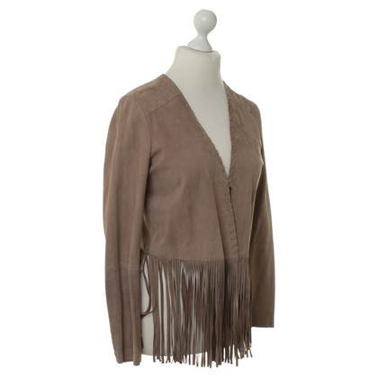 Steffen Schraut Fringe leather jacket