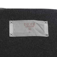 Dear Cashmere Cashmere vest with fringes