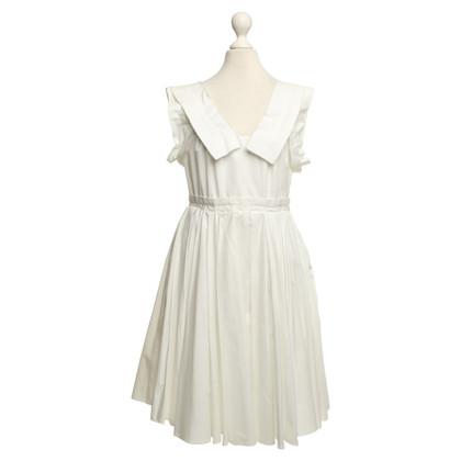 Miu Miu Cotton dress in white