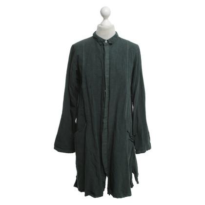 Omen Dress in dark green