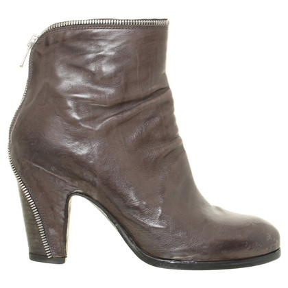 Officine Creative Ankle boots leather