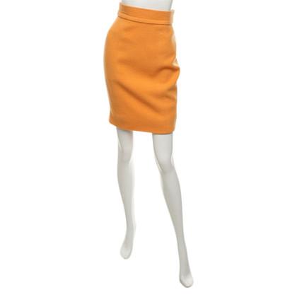 Chanel Pencil skirt in orange