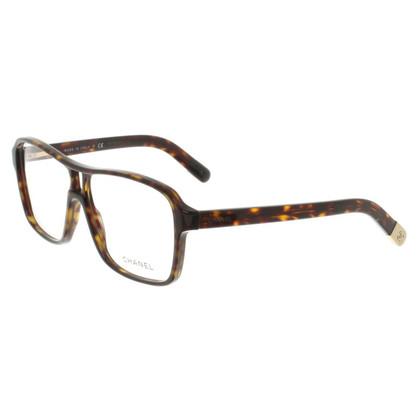 Chanel Brille mit Schildpattmuster