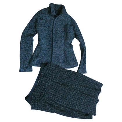 Yohji Yamamoto Kostuum gemaakt van zijde en wol