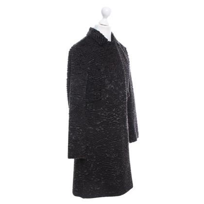 Max Mara Coat in dark brown