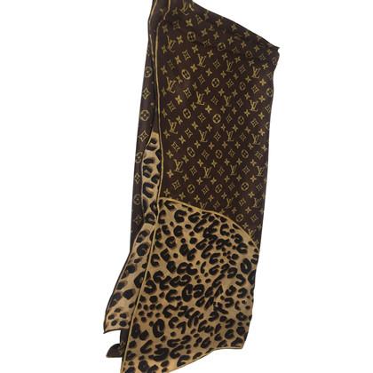 Louis Vuitton luipaard sjaal