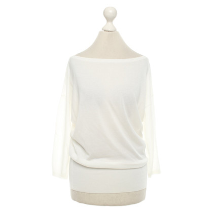 Agnona top in white