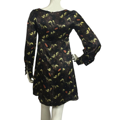 Tara Jarmon Silk dress with pattern