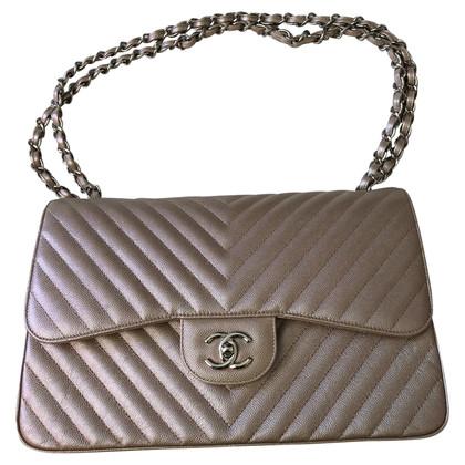 """Chanel """"Jumbo Chevron Double Flap Bag"""""""