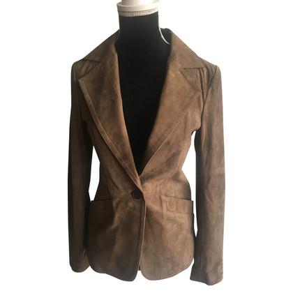 Stefanel Lamb Leather Jacket