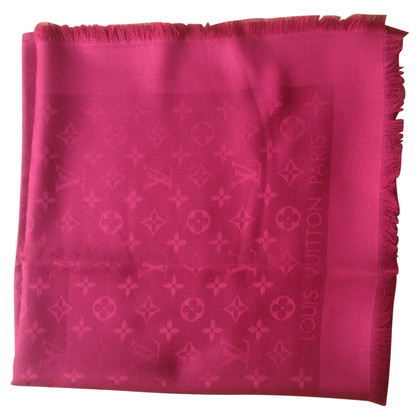 Louis Vuitton Scialle Monogram Rosso