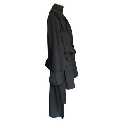 Preen Black wool coat