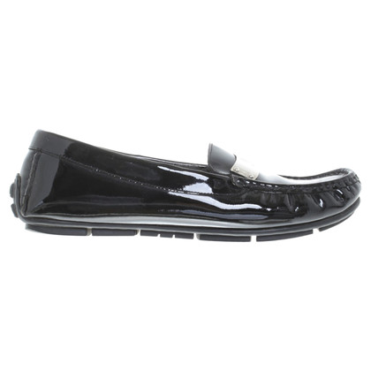 Bogner Patent leather loafers