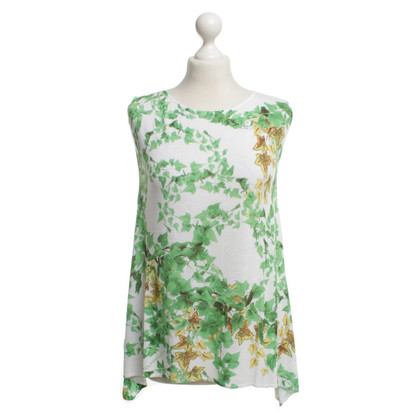 Roberto Cavalli Top with floral pattern
