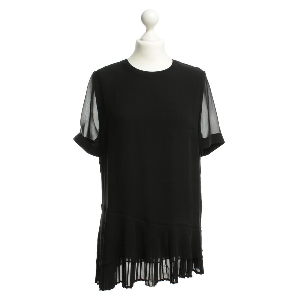 Kaviar Gauche Silk blouse in black
