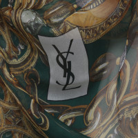 Yves Saint Laurent Silk scarf with motif