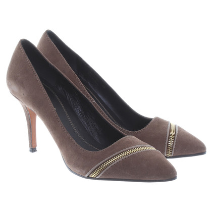 Boss Orange pumps met decoratieve rits