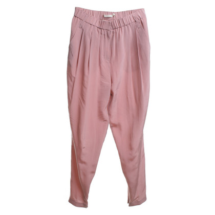 Schumacher pantaloni di seta a nudo